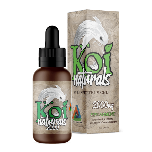 releaf CBD center koi naturals spearmint tincture