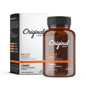 original hemp relief cbd capsules